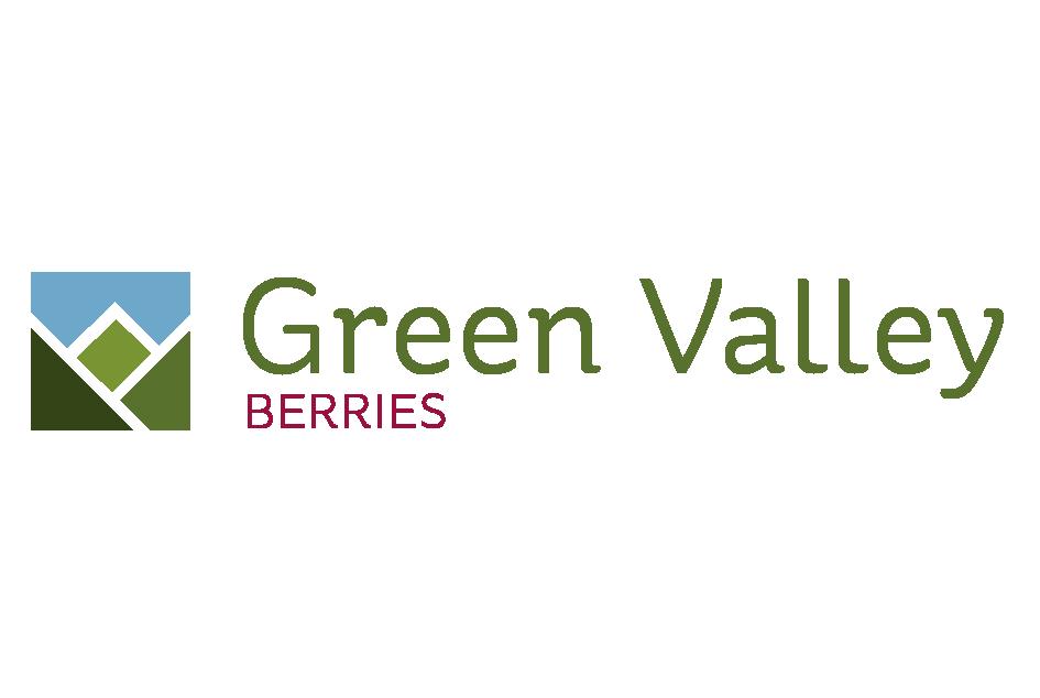 Logotipo Green Valley Berries